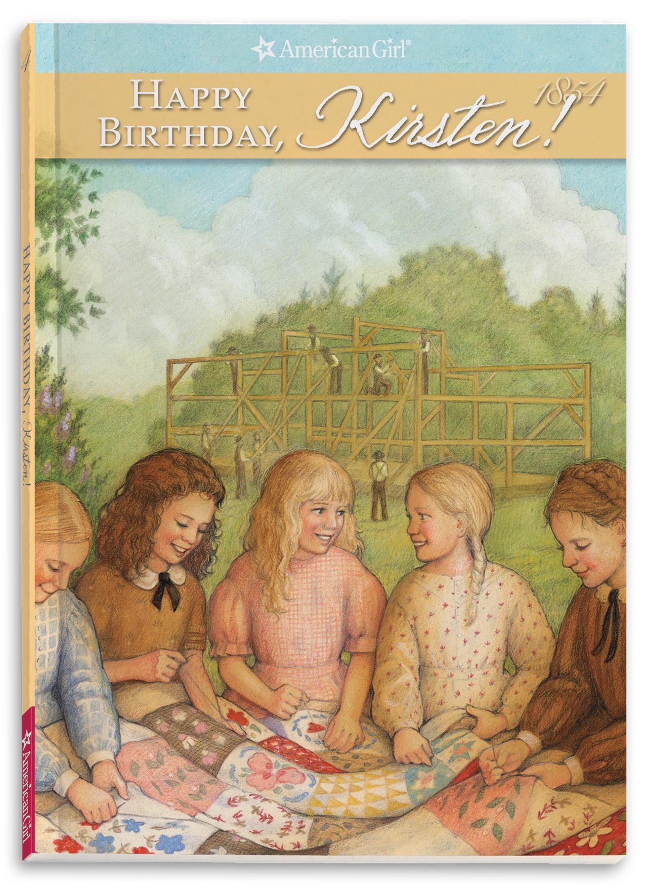 Happy Birthday, Kirsten!