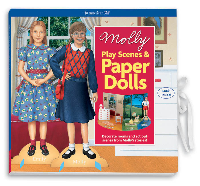 Molly's Play Scenes and Paper Dolls