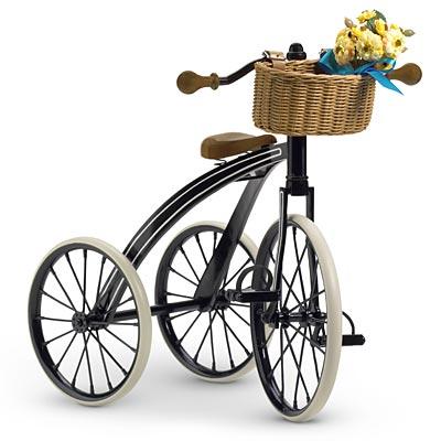 Samantha's Three-Wheeled Bicycle