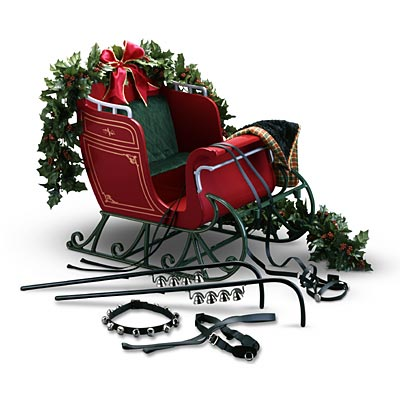 Central Park Sleigh and Accessories