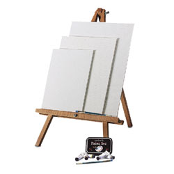 Easel and Canvas