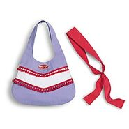 American Girl Club Purse and Scarf for Kids