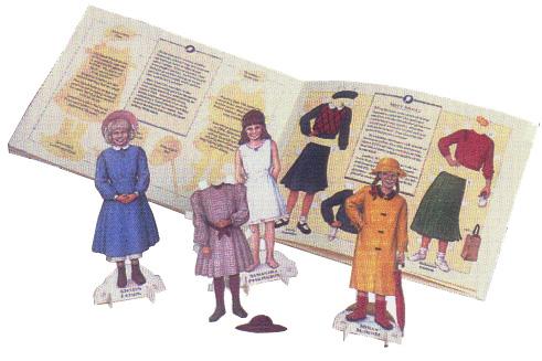 American Girls Paper Dolls