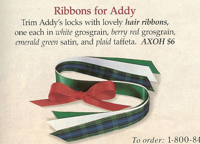 Ribbons for Addy