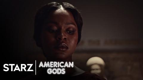American Gods - Season 1, Episode 2 Clip- Queen of Sheba - STARZ