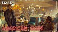 American Gods - Neil Gaiman's America- Motel America - STARZ