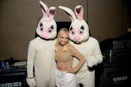 Kristin chenoweth easter bunnies