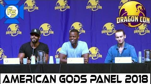 American Gods Panel (Ricky Whittle, Demore Barnes, Bruce Langley) - Dragon Con 2018
