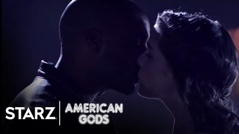 American Gods - Season 1, Episode 3 Clip- Rooftop Fortune - STARZ