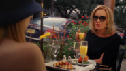 Fiona dining with Madison - AHS Coven