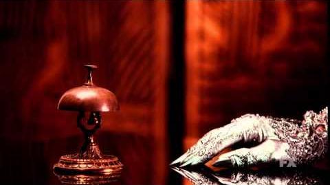 "American Horror Story Hotel Teaser 5 ""Front Desk"""