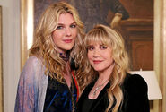 Lily Rabe and Stevie Nicks 2
