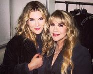 Lily Rabe and Stevie Nicks 3