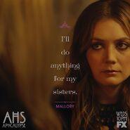 S8E9 Quote Poster - Mallory