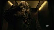 Hotel Trailer - Iris holding keys