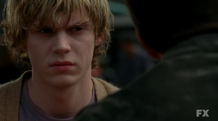 S01E04 Evan Peters as Tate Langdon American Horror Story 2