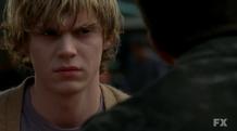 S01E04 Evan Peters as Tate Langdon American Horror Story 2