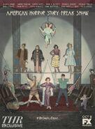 AHS Freak Show Cast Art Embed