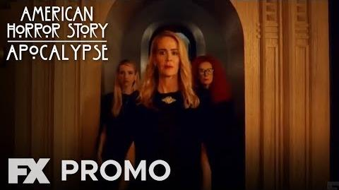 """American Horror Story Apocalypse Promo 8x02 - """"The Morning After"""" (HD)"""
