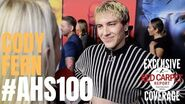 Cody Fern interviewed at FX Network's American Horror Story 100 Episodes Red Carpet AHSFX