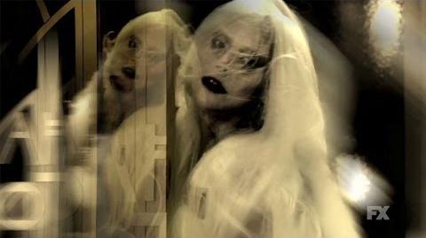 American Horror Story Hotel trailer Hallways