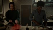 S7E11 Ally and Beverly cooking