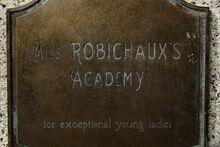 Miss R Academy plaque .jpg