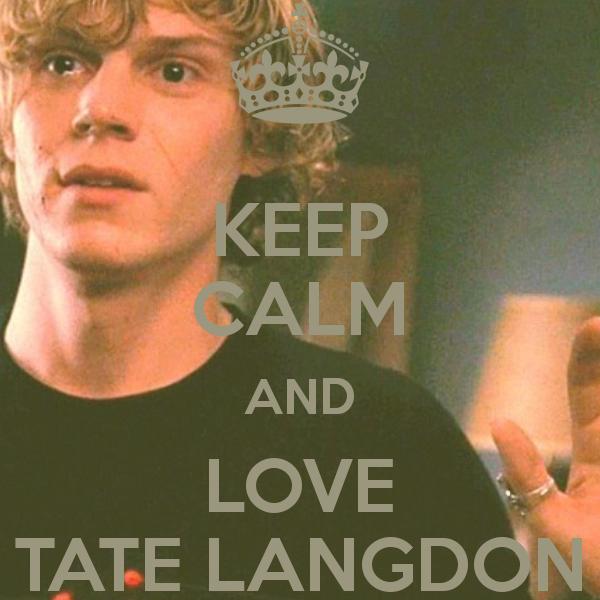 Keep-calm-and-love-tate-langdon-5-8637.png