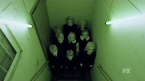 American Horror Story Hotel - Teaser 4 Towhead