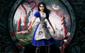 Alice in a keyhole