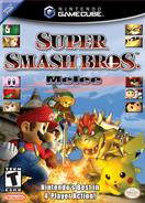 Super Smash Bros Melee box art