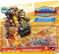 Embalaje del amiibo de Turbo Charge Donkey Kong - Serie Skylanders.png