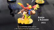 Presentación del amiibo de Banjo & Kazooie