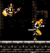 Hada y coloración basados en King Knight - Cyber Shadow