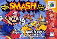 Caja de Super Smash Bros. (América)