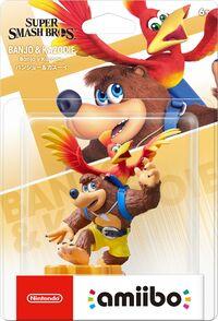 Embalaje NTSC del amiibo de Banjo y Kazooie - Serie Super Smash Bros..jpg