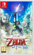 Caja de The Legend of Zelda Skyward Sword HD (Europa)
