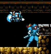 Hada y coloración basados en Shovel Knight - Cyber Shadow
