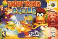 Caja de Diddy Kong Racing (América)