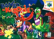 Caja de Banjo-Kazooie (América)