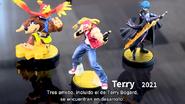 Presentación del amiibo de Terry