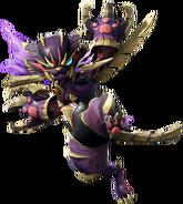 Armadura superpuesta que se obtiene con el amiibo del camarada Felyne - Monster Hunter Rise