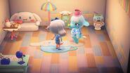 Chai y algunos objetos temáticos de Cinnamoroll - Animal Crossing New Horizons