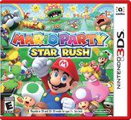 Caja de Mario Party Star Rush
