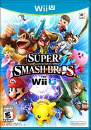 Caja de Super Smash Bros. for Wii U (América)