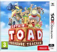 Caja de Captain Toad Treasure Tracker (Nintendo 3DS) (Europa)