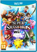Caja de Super Smash Bros. for Wii U (Europa)