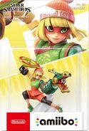 Embalaje europeo del amiibo de Min Min - Serie Super Smash Bros.
