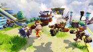 Turbo Change Donkey Kong en Skylanders SuperChargers