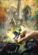 Imagen promocional amiibo Link Lobo en The Legend of Zelda Twilight Princess HD